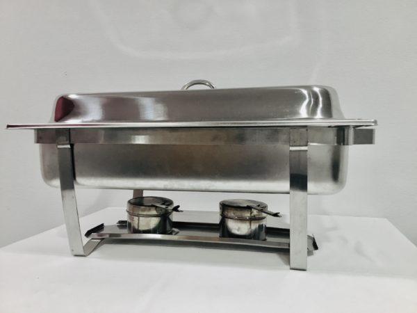 CHAFFING DISH( fonctionne avec 2 pates à bruler)